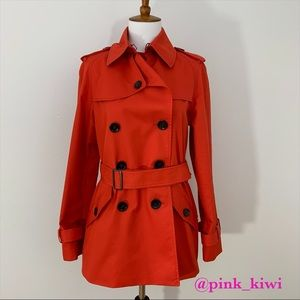 Coach Short Trench Coat